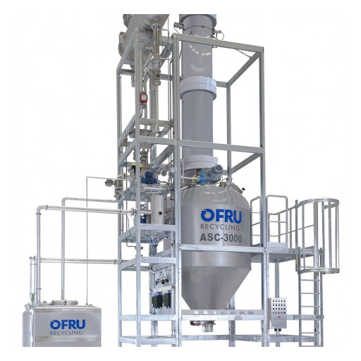 New Large-Scale Solvent Recycling Plant for Recovery of Large Quantities of Solvents