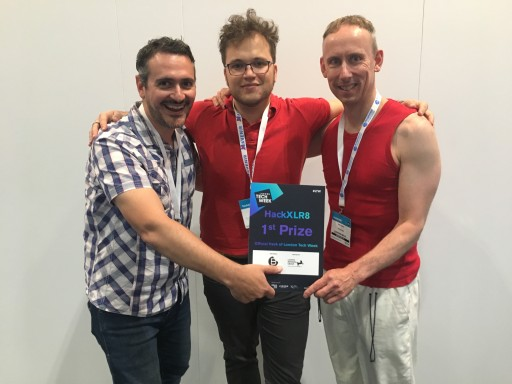 AIRMove Wins London Tech Week Hackathon
