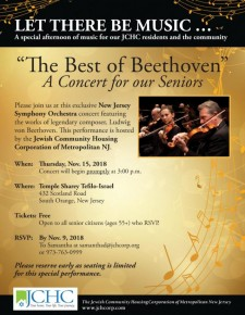 """Best of Beethoven concert"" hosted by JCHC"