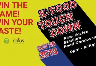 K-Food Touchdown Event