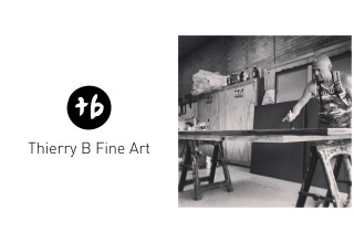 Thierry B, Abstract Painter, Art Dealer and Gallery Director