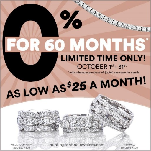 This Month Huntington Fine Jewelers Helps Customers Cash in on Big Jewelry Savings for the Holidays