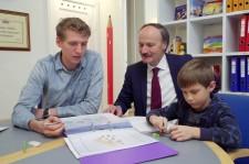 Danish Educator and school administrator Ole Hemmingsholt
