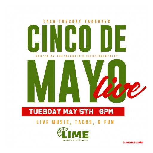 The Lipstickroyalty Agency and ThatDjChris to Host Cinco De Mayo Live