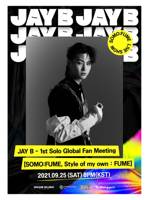 Jay B, a Former Lead Member of GOT7 to Release Fan Meeting Videos as NFTs