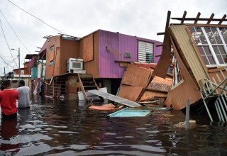 Total devastation in Puerto Rico