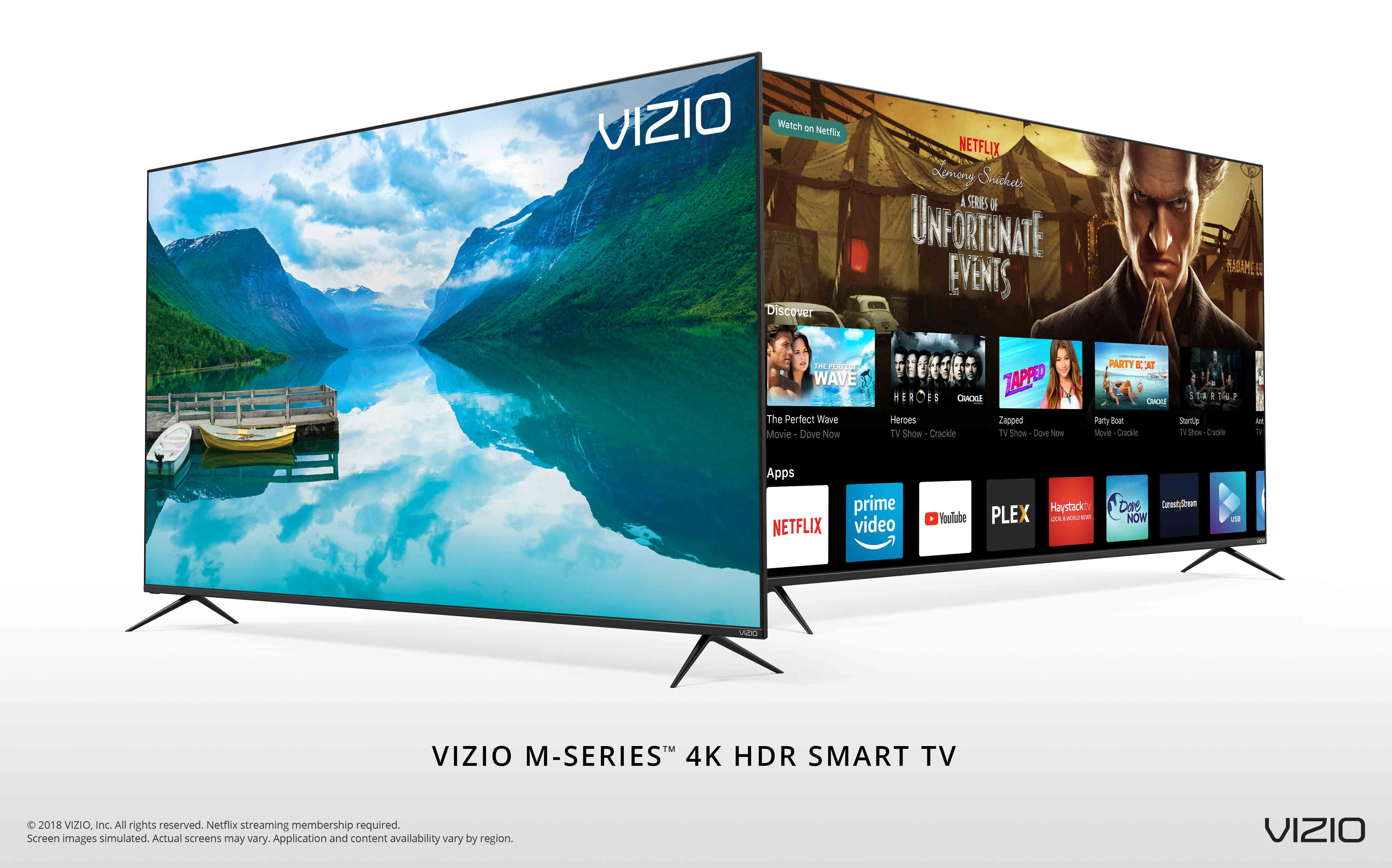 VIZIO Rolls Out All-New 2018 M-Series™ 4K HDR Smart TVs to
