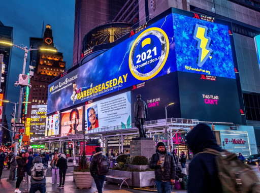 Shining a Light on Kleine Levin Syndrome in Times Square