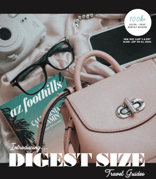 AZ Foothills Announces New Digest Size Travel Guides for Summer 2020