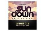 Sundown Music Festival 9/17-18 www.sundownmusicfest.com