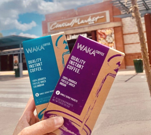 Online Favorite Waka Coffee Launches in Texas' Top Gourmet Grocery Chain Central Market