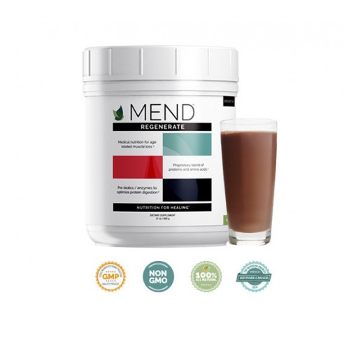 NEW Medical Dietary Supplement MEND Regenerate Combats Aging-Related Muscle Loss