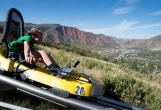 Ride the coaster at Glenwood Caverns and Adventure Park