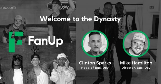 FanUp Squads Up in Prep for August Launch of Social Gaming App With Appointment of Mega Talents to Lead Business Development and Media