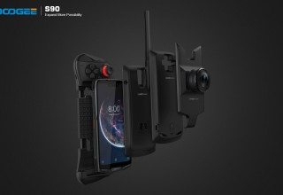 DOOGEE S90, the world's first modular rugged phone