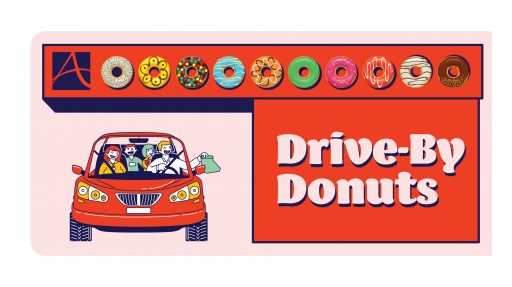 Avamere at Cheyenne Hosts Free Drive-By Donuts