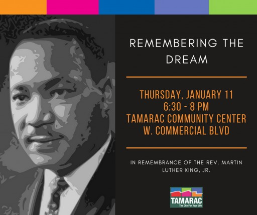 Join the City of Tamarac in Celebrating Black History Month