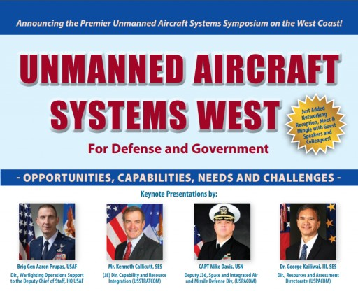 "Technology Training Corporation (TTC) Announces ""Unmanned Aircraft Systems West"" for Defense and Government, August 29-30"