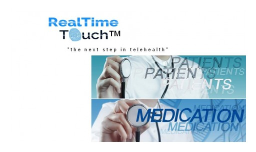 RemoteRx Telemedicine Dispenser Platform by Real Time Touch (TM)