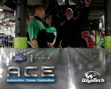 WyoTech and Ford Lincoln Partner in ACE Program
