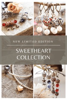 Sweetheart Collection by Kaleidoscopes And Polka Dots #handmadejewelry