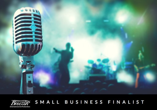 Breezin' Entertainment Named Finalist for Tampa Bay Small Business of the Year