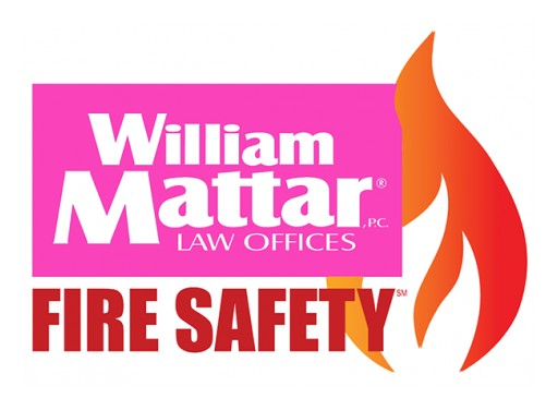 Car Accident Attorney William Mattar's Fire Safety Program Provides Certificates for a Free Smoke Detector