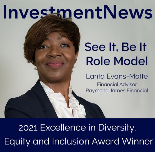 Lanta Evans-Motte, MBA, RFC\u00ae, RICP\u00ae and Financial Advisor with Raymond James Financial Services