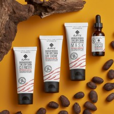 Alaffia's new Baobab Rooibos Collection of face and skincare products