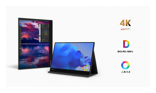 "XtendTouch Pro Launches on Kickstarter - World's 1st 15.6"" 4K AMOLED Portable Monitor"