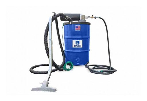 Larson Electronics Releases Explosion-Proof Vacuum, 55-Gallon Capacity, 48 CFM, Certified HEPA Filter