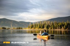 Kayaking on the Dillon Reservoir
