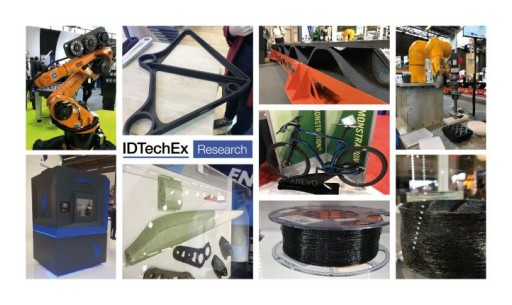 3D Printing of Composites: IDTechEx Profiles Startups Competing for Market Share