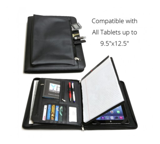 Business Leather Portfolio is a Must-Have for Salespeople