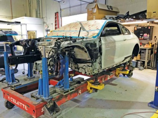 Autobody News: Automark Collision Relies Exclusively on Celette Sevenne Frame Benches