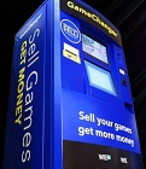 GameChanger Kiosk Offers Convenient Alternative to Brick-and-Mortar Video Game Stores