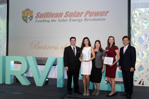 Sullivan Solar Power Named Irvine Business of the Year