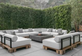 Outdoor Patio Area for LA Holiday Rental