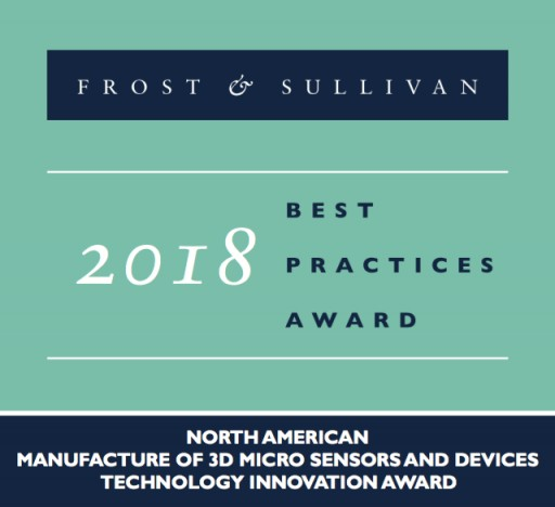 Integra Devices Recognized as the Industry Leader by Frost & Sullivan for Innovations in Micro-Sensors