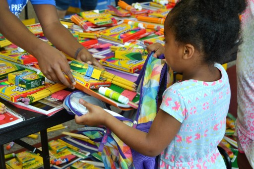 10,000+ Backpacks Filled With School Supplies to Be Distributed in Flint, MI