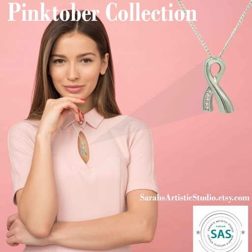 Sarah's Artistic Studio Introduces 'Pinktober' Collection of Remembrance Jewelry