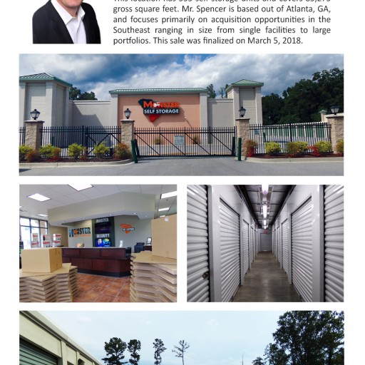 The Storage Acquisition Group Announces the Sale of Monster Self Storage in Hardeeville, SC