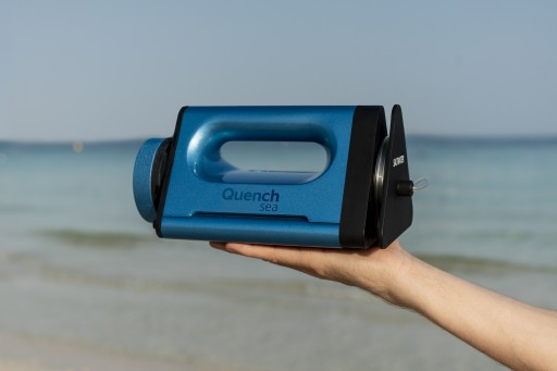Quench Sea - the World's Most Affordable Portable Desalination Device -  Reaches Funding Goal, Extends Indiegogo Campaign