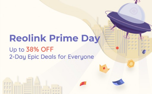 Reolink Launches Showstopping Prime Day Sales 2019, Up to 38% Off on Smart Cameras
