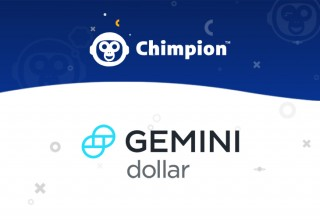 Chimpion Logo and Gemini Dollar