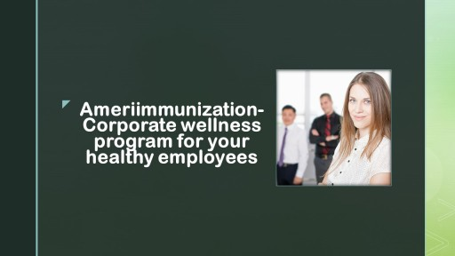 New Corporate Wellness Program (Dallas and Fort Worth)