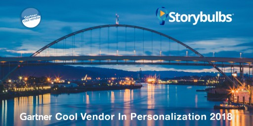 "Storybulbs Named a ""Cool Vendor"" in Personalization by Gartner for 2018"