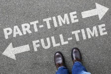 Must Decide Between Part-Time or Full-Time Work