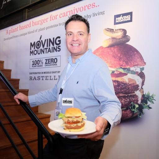 Rastelli Foods Launch the Moving Mountains Meatless Burger in the Middle East