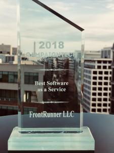 FrontRunner | 2018 Best Software as a Service